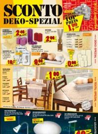 Sconto Deko-Spezial Oktober 2013 KW41