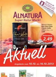Alnatura Alnatura Prospekt KW41 Oktober 2013 KW41