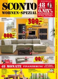Sconto Wohnen-Spezial Oktober 2013 KW43