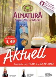 Alnatura Alnatura Prospekt KW42 Oktober 2013 KW42