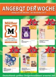 Müller Müller Prospekt KW44 Oktober 2013 KW44