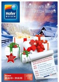 Hofer Hofer Reisen Dezember 2013 Dezember 2013 KW48