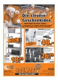 Globus Baumarkt Globus Baumarkt Prospekt KW50 Dezember 2013 KW50