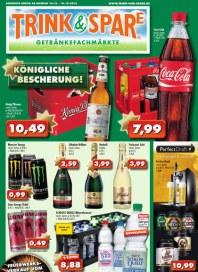 Trink & Spare Trink & Spare Prospekt KW51 Dezember 2013 KW51