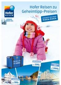 Hofer Hofer Reisen Januar 2013 Januar 2014 KW01