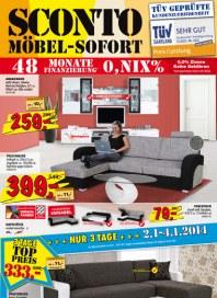 Sconto Möbel Sofort Januar 2014 KW01