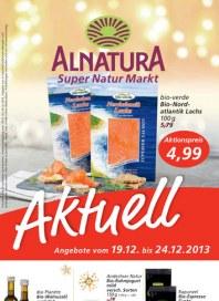 Alnatura Alnatura Prospekt KW51 Dezember 2013 KW51