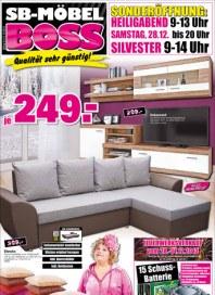 MÖBEL BOSS Möbel Boss Prospekt KW51 Dezember 2013 KW51