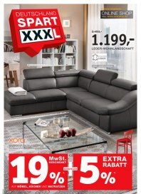 Xxxl-Möbel Xxxl-Möbel Prospekt KW01 Dezember 2013 KW01 2