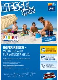 Hofer Hofer Reisen - Messespecial Januar 2014 KW03