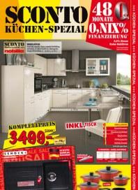 Sconto Küchen-Spezial Januar 2014 KW02