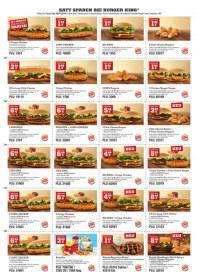 BURGER KING Burger King Prospekt KW03 Januar 2014 KW03