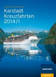 Karstadt-Reisen Karstadt-Reisen Prospekt KW04 Januar 2014 KW04