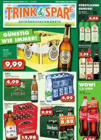 Trink & Spare Trink & Spare Prospekt KW05 Januar 2014 KW05