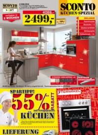 Sconto Küchen-Spezial Februar 2014 KW06