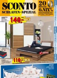 Sconto Schlafen-Spezial Februar 2014 KW08
