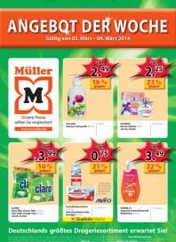 Müller Müller Prospekt KW10 März 2014 KW10