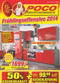 Poco Einrichtungsmarkt Poco Einrichtungsmarkt Prospekt KW10 März 2014 KW10