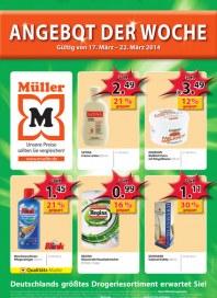 Müller Müller Prospekt KW12 März 2014 KW12