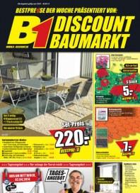 B1-Discount B1-Discount Prospekt KW13 März 2014 KW13