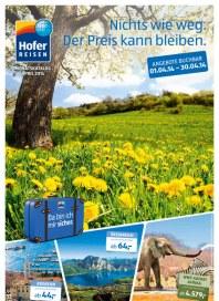 Hofer Hofer Reisen April 2014 April 2014 KW14