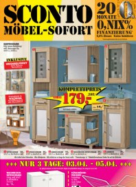 Sconto Möbel-Sofort April 2014 KW14