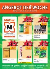Müller Müller Prospekt KW17 April 2014 KW17