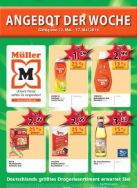Müller Müller Prospekt KW20 Mai 2014 KW20