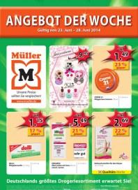 Müller Müller Prospekt KW26 Juni 2014 KW26
