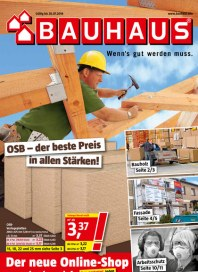 Bauhaus Bauhaus Prospekt KW27 Juni 2014 KW27