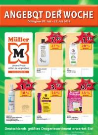 Müller Müller Prospekt KW28 Juli 2014 KW28