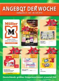 Müller Müller Prospekt KW30 Juli 2014 KW30