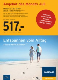 Karstadt-Reisen Karstadt-Reisen Prospekt KW27 Juli 2014 KW27