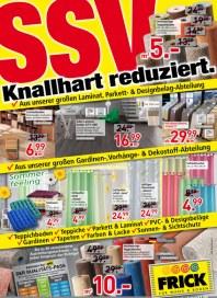 Frick für Wand & Boden Frick Für Wand & Boden Prospekt KW30 Juli 2014 KW30