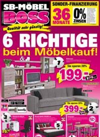 MÖBEL BOSS Möbel Boss Prospekt KW31 Juli 2014 KW31