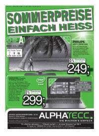 AlphaTecc Alphatecc Prospekt KW33 August 2014 KW33