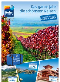 Hofer Hofer Reisen September 2014 September 2014 KW36