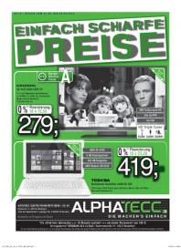 AlphaTecc Alphatecc Prospekt KW36 September 2014 KW36