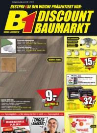 B1-Discount B1-Discount Prospekt KW38 September 2014 KW38