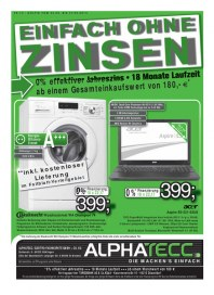 AlphaTecc Alphatecc Prospekt KW39 September 2014 KW39
