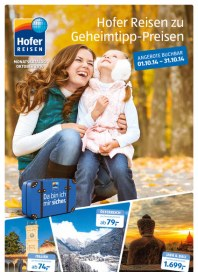 Hofer Hofer Reisen Oktober 2014 Oktober 2014 KW40