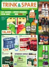 Trink & Spare Trink & Spare Prospekt KW40 September 2014 KW40