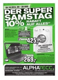 AlphaTecc Alphatecc Prospekt KW41 Oktober 2014 KW41