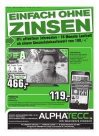 AlphaTecc Alphatecc Prospekt KW42 Oktober 2014 KW42