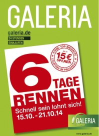 Galeria Kaufhof Galeria Kaufhof Prospekt KW42 Oktober 2014 KW42 1