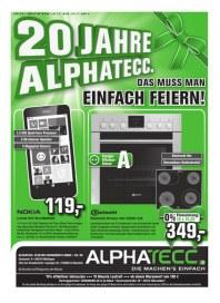 AlphaTecc Alphatecc Prospekt KW46 November 2014 KW46