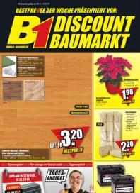 B1-Discount B1-Discount Prospekt KW49 Dezember 2014 KW49