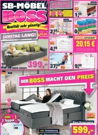 MÖBEL BOSS Möbel Boss Prospekt KW01 Dezember 2014 KW01
