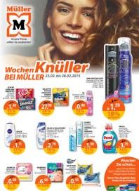 Müller Müller Prospekt KW09 Februar 2015 KW09