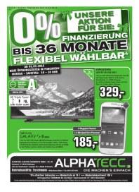 AlphaTecc Alphatecc Prospekt KW11 März 2015 KW11